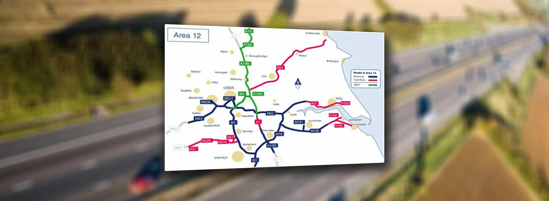 Area 12 Pavement Renewal- M1 J36-38 & additional schemes