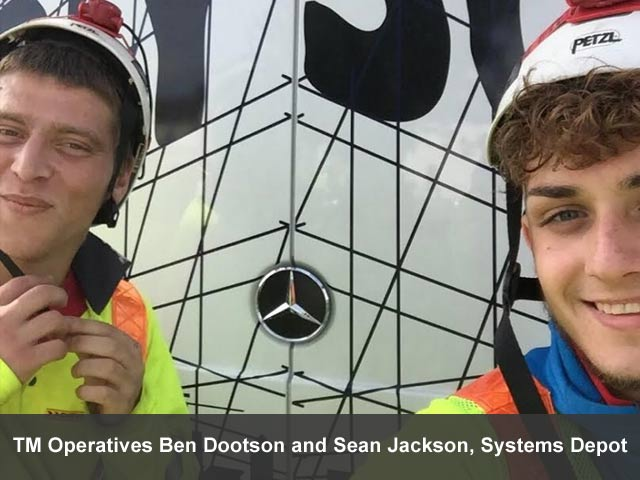 Chevron assists with BBC One's DIY SOS