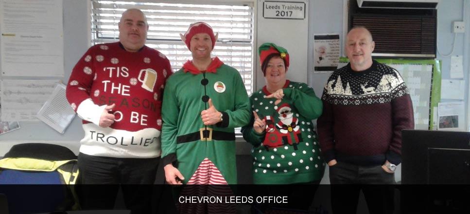 Chevron employees unleash their inner elves for Alzheimer's Society