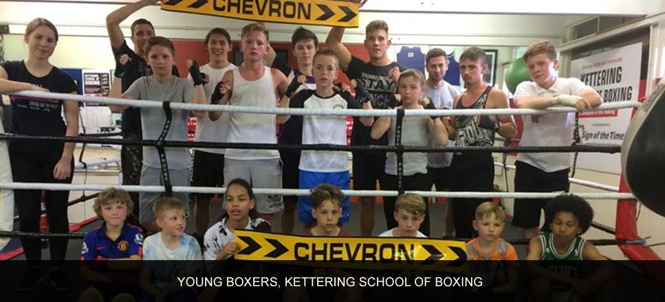 Young boxers, Kettering School of Boxing