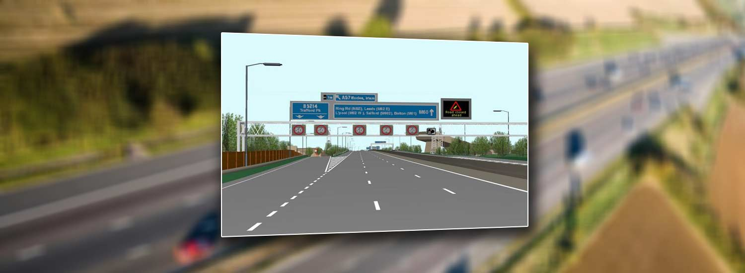 Manchester Smart Motorways (M60)