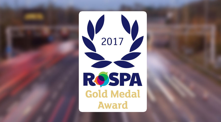 Chevron pick up prestigious RoSPA Gold Award for sixth year in a row