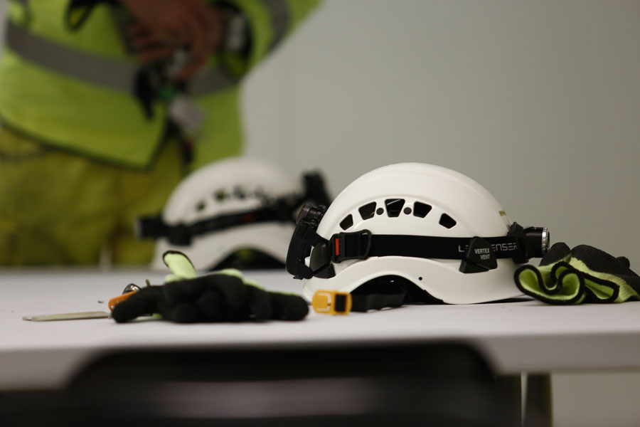 Chevron & Petzl Safety Helmet… 5 years on!