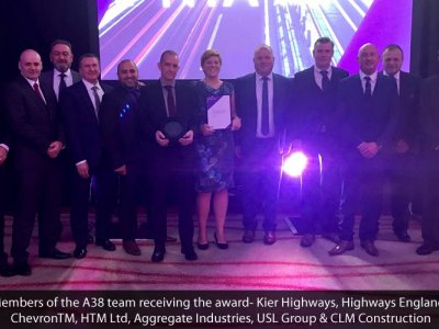 A win for Area 9 at the National Transport Awards 2017