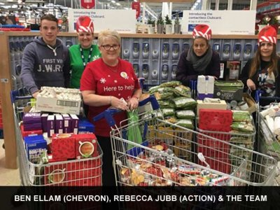 2017 Christmas hampers in aid of 'Action for Children Charity'