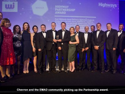 Highways Magazine Awards – Chevron and the EMAD team score a double