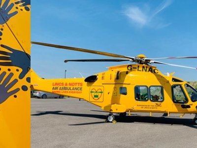 Chevron are proud to support the Lincs & Notts Air Ambulance