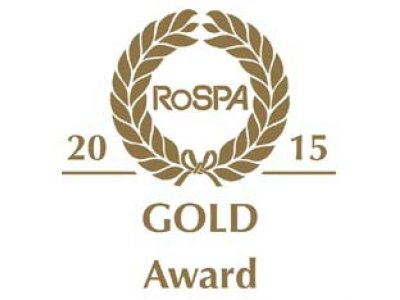 Chevron Awarded RoSPA Gold for the fourth time in a row!