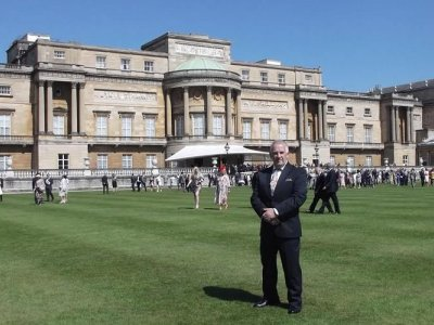 RoSPA celebrates its Centenary at Buckingham Palace …with Chevron in attendance!
